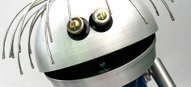 Брайан Маршал и его позитивные роботы (25 фото)