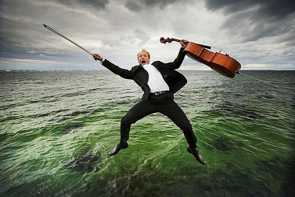 Николай Лунд и фото классических музыкантов
