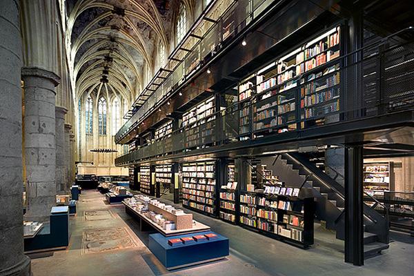 Самый красивый книжный магазин Selexyz Dominicanen