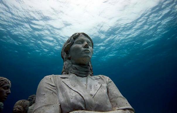 Джейсон Тейлор и его подводные парки скульптур