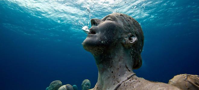 Джейсон Тейлор и его подводные парки скульптур (21 фото)