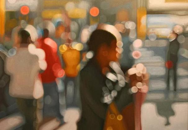 Филипп Барлоу и его картины в расфокусе