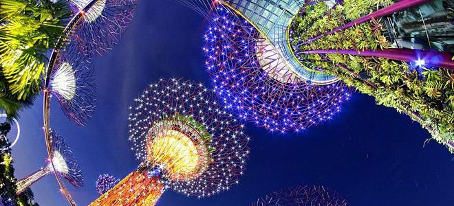 Футуристический ботанический парк «Сады у залива» (13 фото)