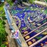 Пестрая мозаика на лестнице в Сан-Франциско