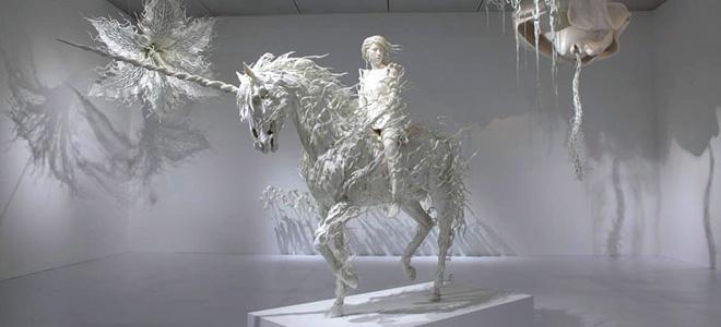 Мотохико Одани и его динамичные скульптуры (11 фото)