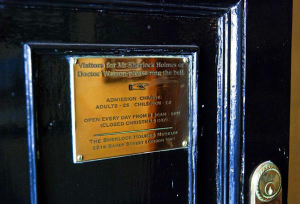Легендарный музей Шерлока Холмса в Лондоне