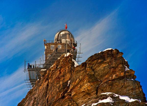 Обсерватория Сфинкс в горах Швейцарии