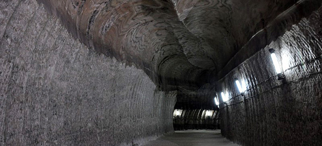 Соляные шахты Соледара (17 фото)