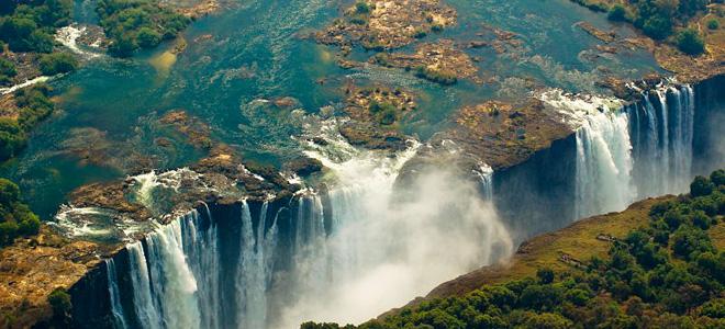 Водопад Виктория (7 фото)