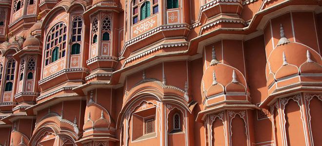 Хава Махал — Дворец Ветров в Джайпуре (11 фото)