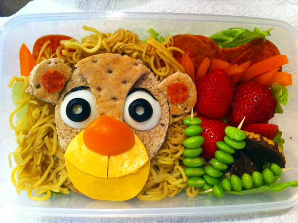 Хизер Ситаржевски и ее необычные школьные обеды