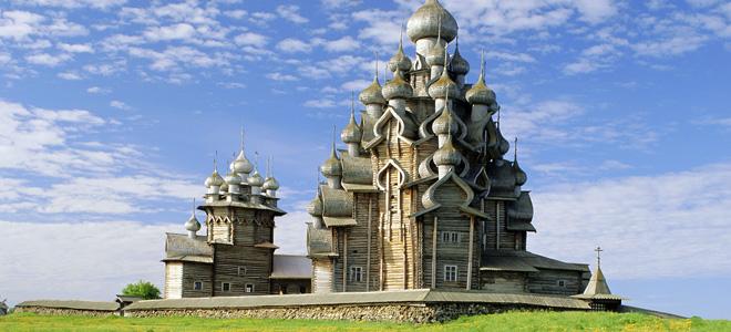 Деревянный храм Преображения Господня (5 фото)