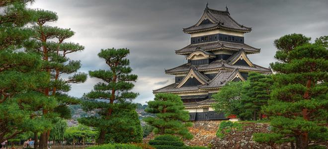 Замок Мацумото в Японии (9 фото)