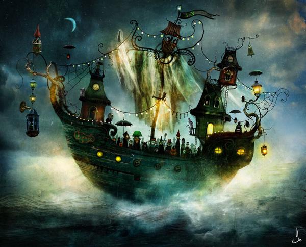 Александр Янссон и его печальные сказочные миры (10)
