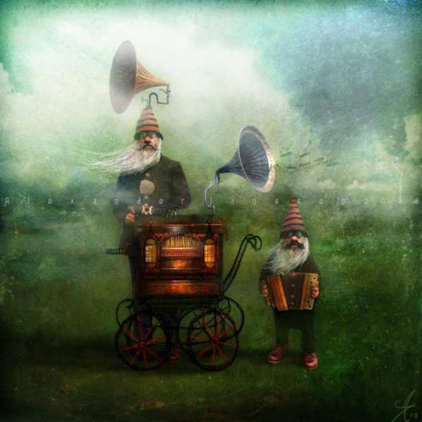 Александр Янссон и его печальные сказочные миры (1)