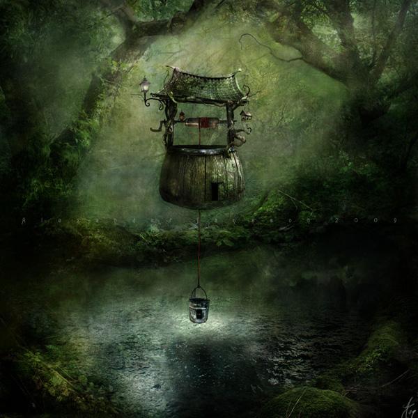 Александр Янссон и его печальные сказочные миры (14)