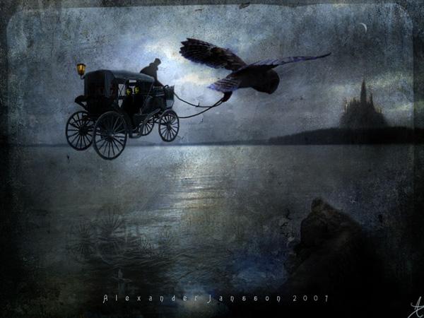 Александр Янссон и его печальные сказочные миры (13)