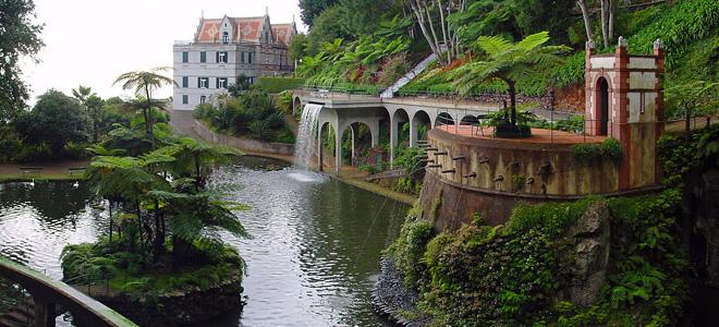 Тропический сад дворца Монте (11 фото)