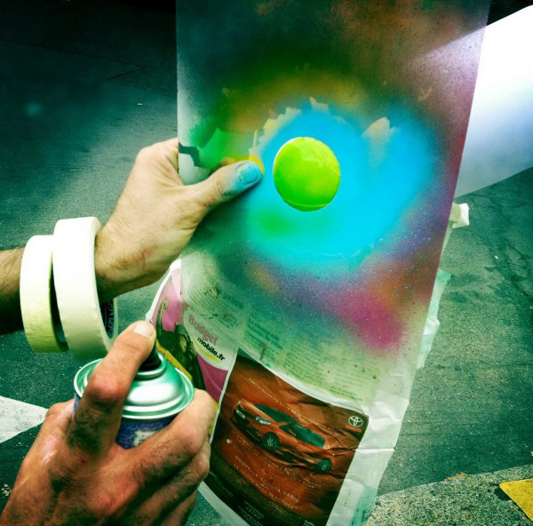 Le CyKlop и его позитивный стрит-арт