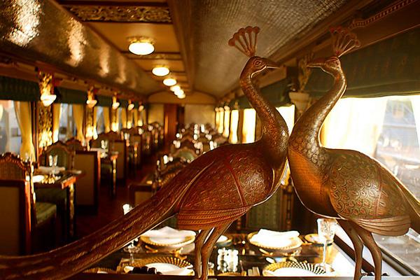 Экспресс Махараджей - самый роскошный поезд Азии