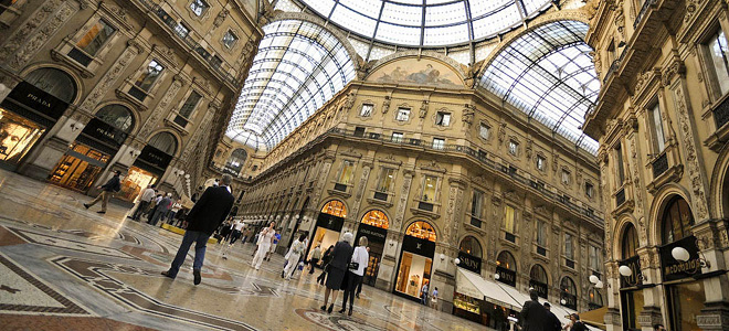 Галерея Виктора Эммануила II в Милане (13 фото)