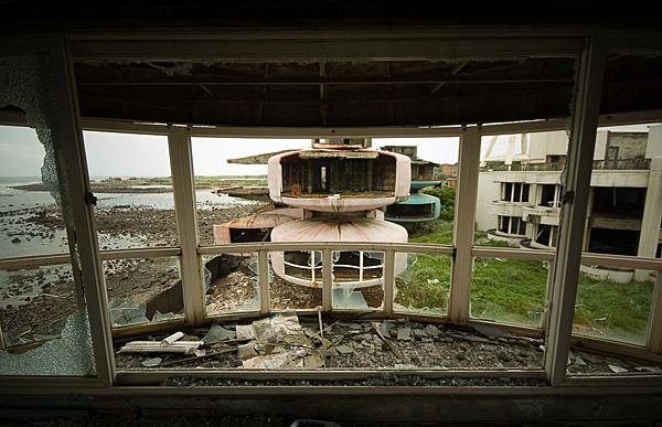 Город-призрак Sanzhi Pod - руины будущего