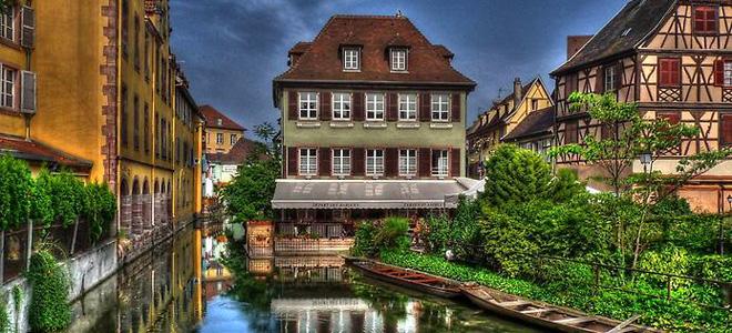 Кольмар — красивейший городок Франции (27 фото)