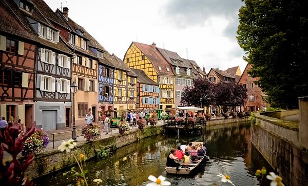 Кольмар - красивейший городок Франции