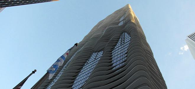 Красивый небоскреб Aqua в Чикаго (13 фото)