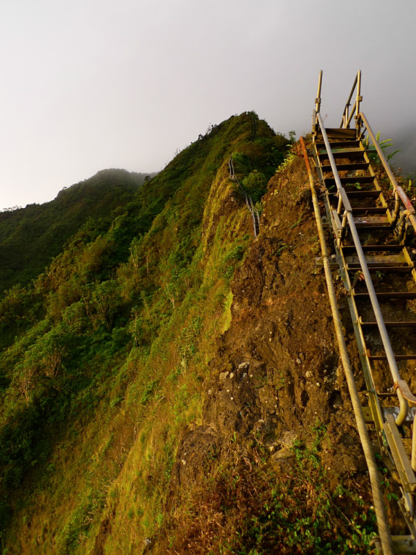 Уникальная тропа Хайку на Гавайях