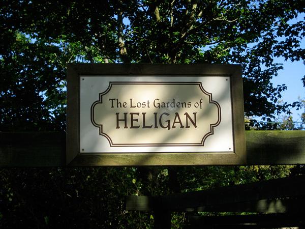 Затерянные сады Хелигана в Корнуоле