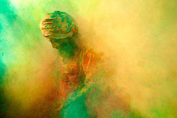 Фестиваль цвета Холи