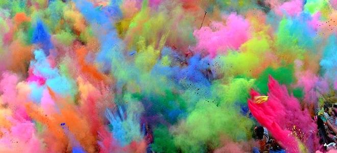Фестиваль цвета Холи (19 фото)