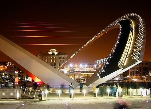 Пешеходный Мост Миллениум в Гейтсхеде