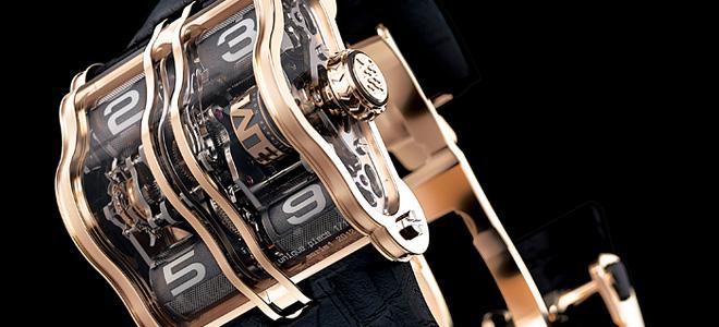 Необычные и роскошные часы 2LMX (9 фото)