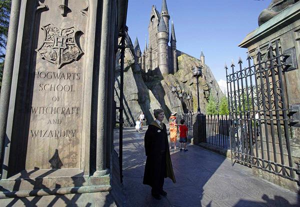 Тематический парк Волшебный мир Гарри Поттера