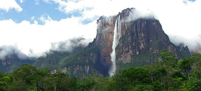 Анхель — самый высокий водопад планеты (11 фото)