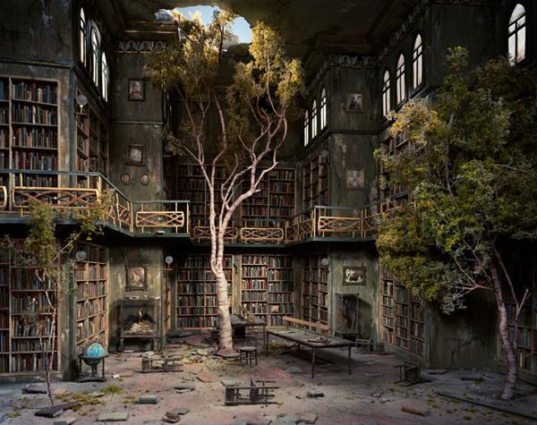 Миниатюрные пейзажи апокалипсиса Лори Никс (18)