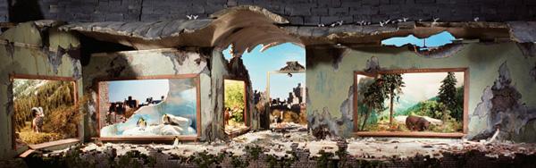 Миниатюрные пейзажи апокалипсиса Лори Никс (13)