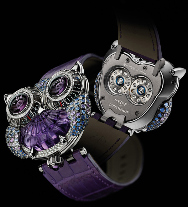 Часы JwlryMachine - шедевр от MB&F и Boucheron
