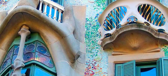 Дом Бальо в Барселоне (15 фото)