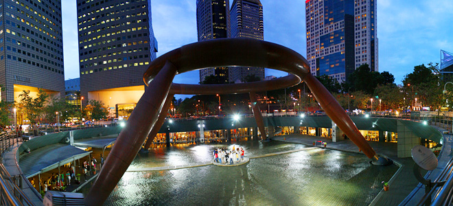 Фонтан Богатства в Сингапуре (9 фото)