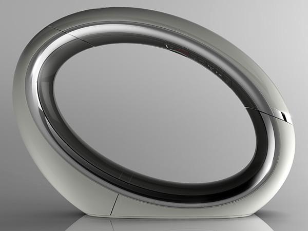 Футуристический стационарный телефон Eclipse DECT