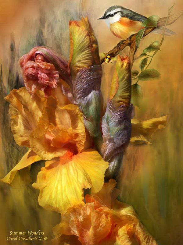 Кэрол Каваларис и ее цифровая живопись (27)