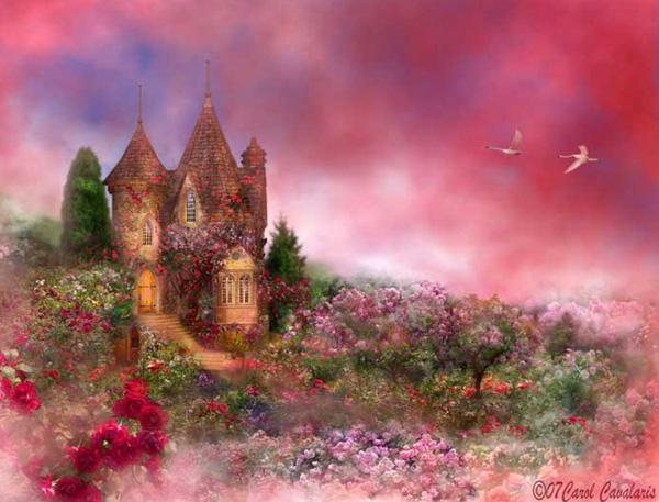 Кэрол Каваларис и ее цифровая живопись (11)