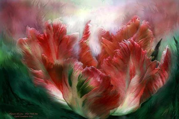Кэрол Каваларис и ее цифровая живопись (26)