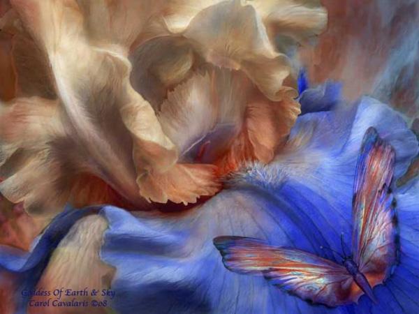Кэрол Каваларис и ее цифровая живопись (4)