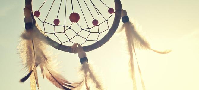 Ловец снов — индейский оберег (15 фото)