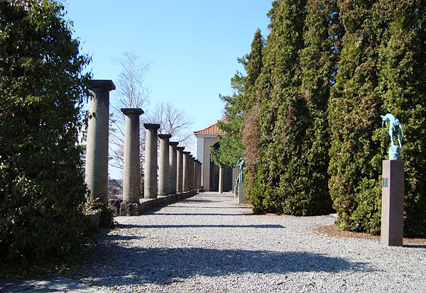 Карл Миллес и его парк-музей скульптур Миллесгорден