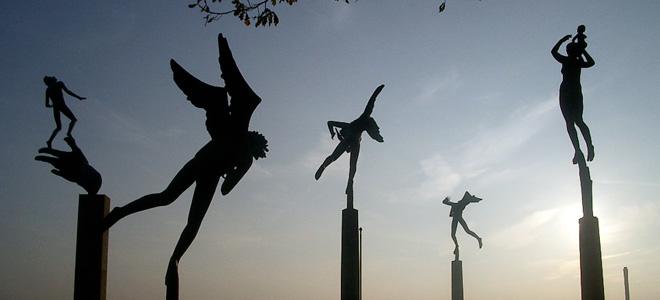Миллесгорден — парк-музей скульптур Карла Миллеса (23 фото)
